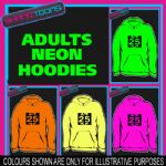 25th BIRTHDAY GIFT  ADULTS TEENAGER ELECTRIC HOODIE HOODY